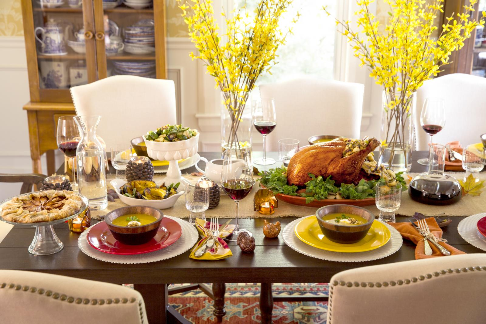 Сервировка еды в домашних условиях