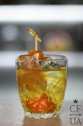 Bitter Bar_абрикосовый old fashioned