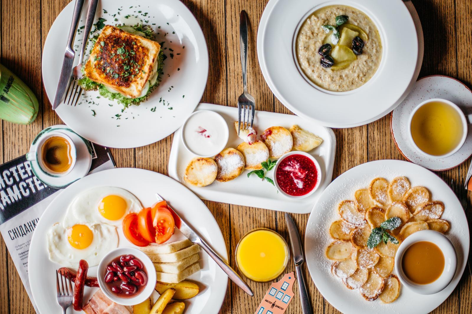 Завтрак в россии на английском