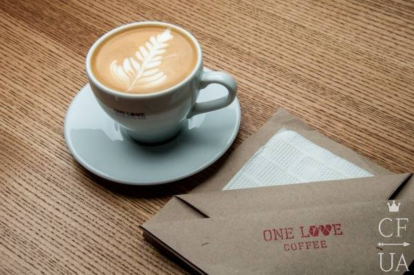 One Love coffee_капуччино