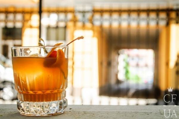 Коктейль Irish old fashioned