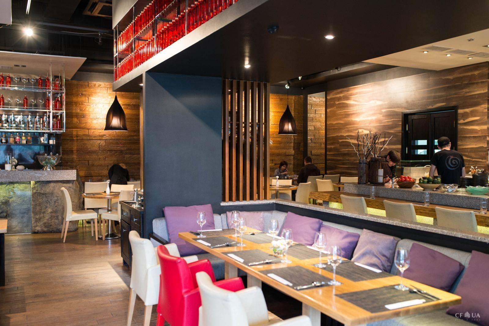 Что украшает интерьер ресторана сто к одному